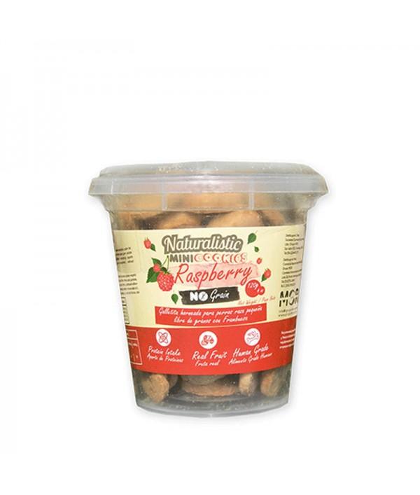 Galleta Mini Grain Free Frambuesa Pote
