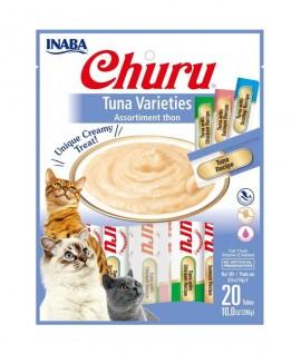 Inaba Churu Tuna Varieties 20 Tubes