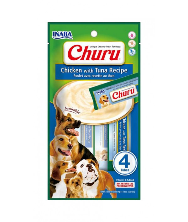 Inaba Dog Churu Chicken With Tuna Recipe