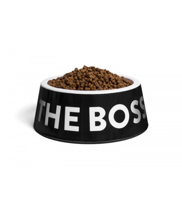 Zee Dog I'm The Boss Bowl Black
