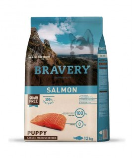Bravery Salmon Puppy Large-Medium Breeds