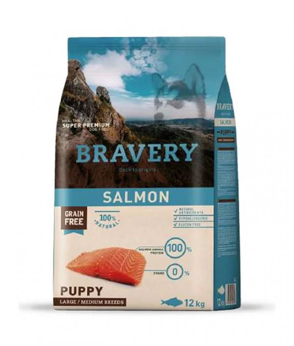 Bravery Salmon Puppy Large-Medium Breeds