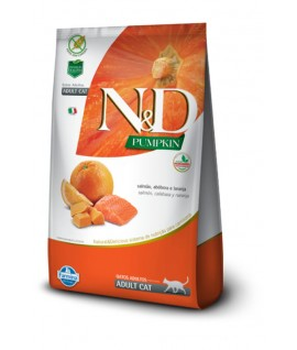 N&D Salmón, Calabaza y Naranja Felino