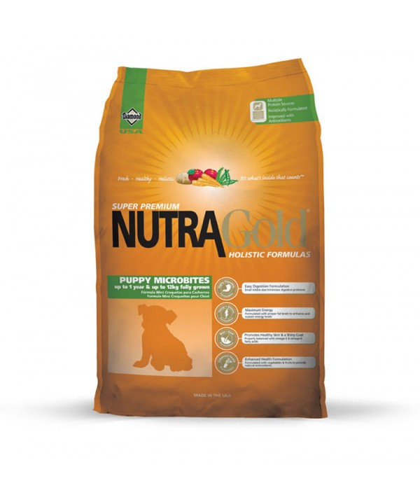 Nutra Gold Puppy Microbites