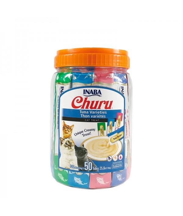 Inaba Churu Tuna Varieties 50 Tubes