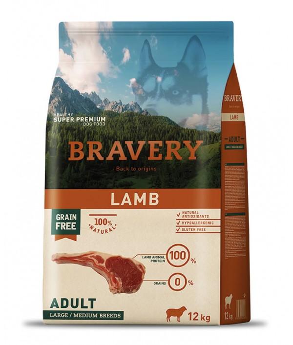 Bravery Lamb Adult Large-Medium Breeds
