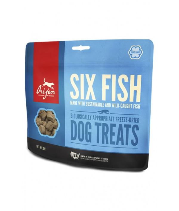 Orijen Treats Six Fish Perro