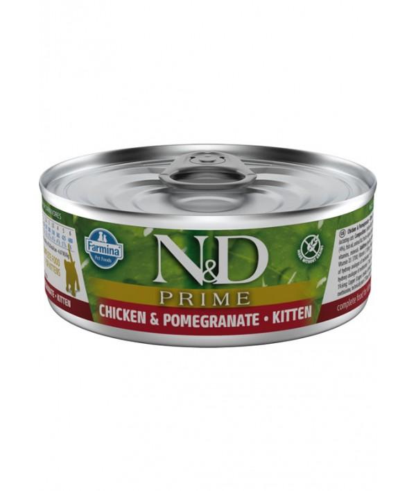 N&D Cat Prime Chicken & Pomegranate Kitten
