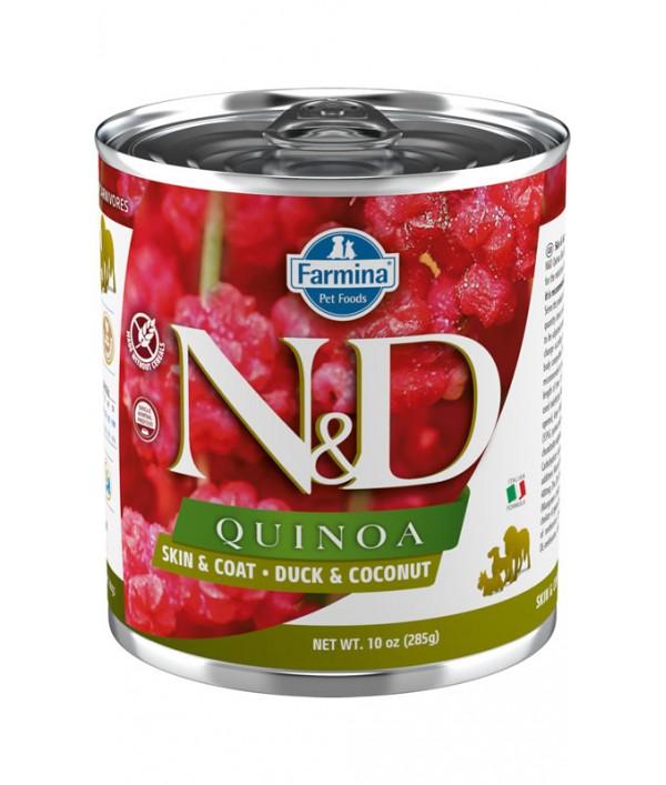 N&D Dog Quinoa Skin & Coat Duck & Coconut