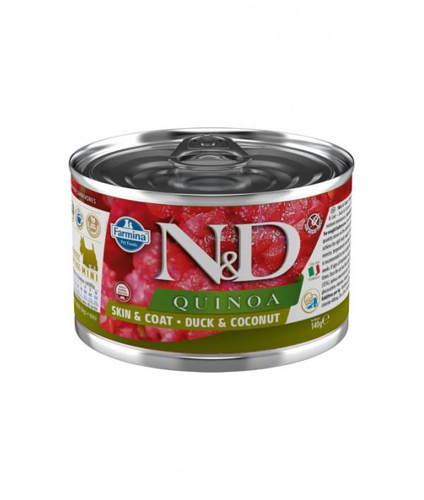 N&D Dog Quinoa Skin & Coat Duck & Coconut Mini