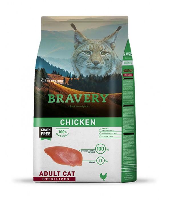 Bravery Chicken Adult Cat Sterilized