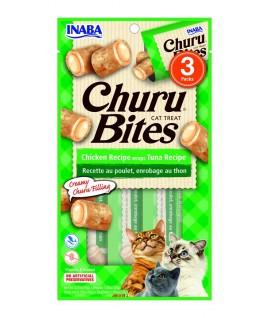 Inaba Churu Bites Receta de Pollo envuelto en Atún