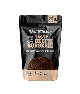 Naturalistic Tasty Beef Burger With BBQ 5u