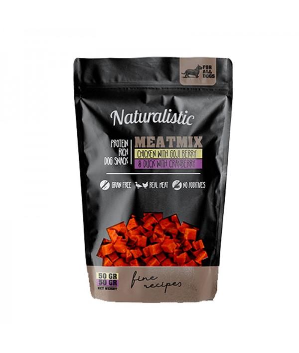 Naturalistic Metamix Chicken W/Goji Berry & Duck W/Cranberry