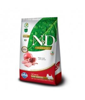 N&D Pollo y Granada Adult Mini
