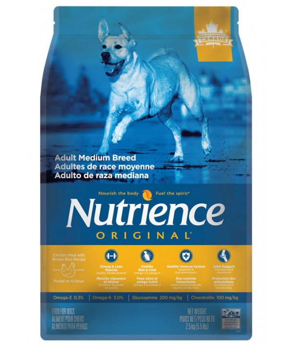 Nutrience Original Dog Adulto Medium