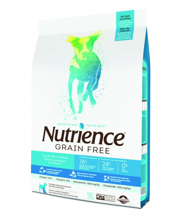 Nutrience Grain Free Dog Pescado Oceanico