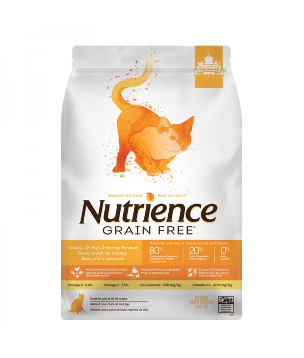 Nutrience Grain Free Cat Pavo/Pollo/Arenque