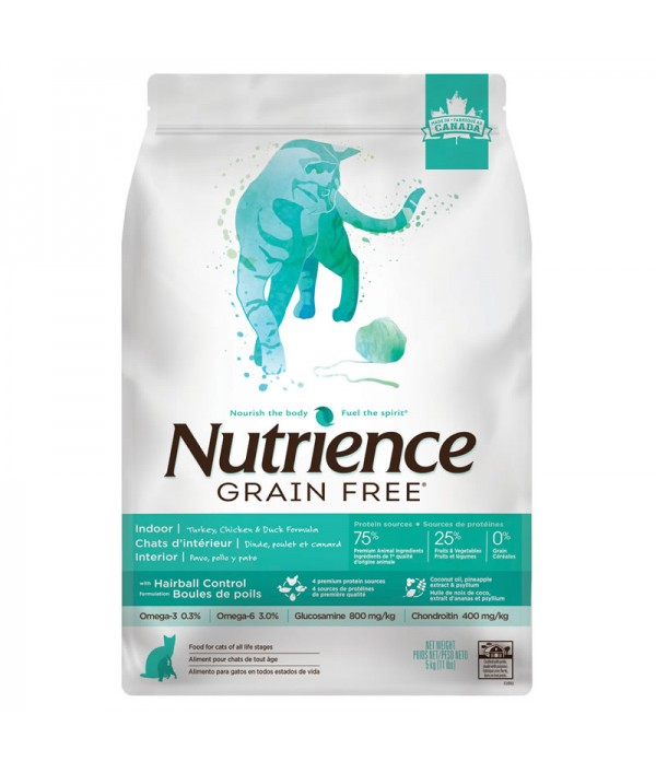 Nutrience Grain Free Cat Indoor Pavo/Pollo/Pato