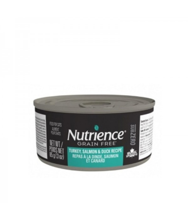 Nutrience Subzero Car Humedo Pavo/Salmón/Pato