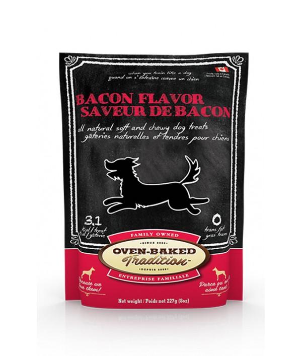 Oven Baked Bacon Dog Treats