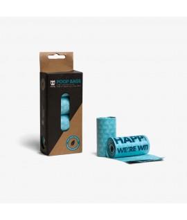 Zee Dog Poop Bags Refill Box (4 Rolls)