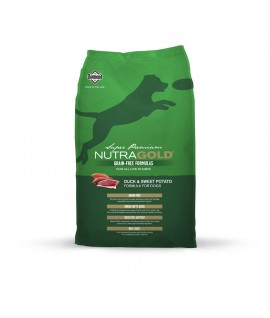 NutraGold Grain Free Duck & Sweet Potato