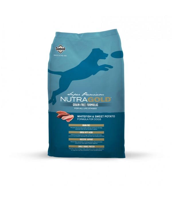 NutraGold Grain Free Duck & Sweet Potato