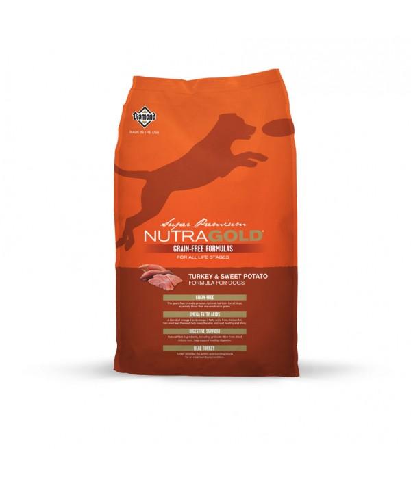 NutraGold Grain Free Turckey & Sweet Potato