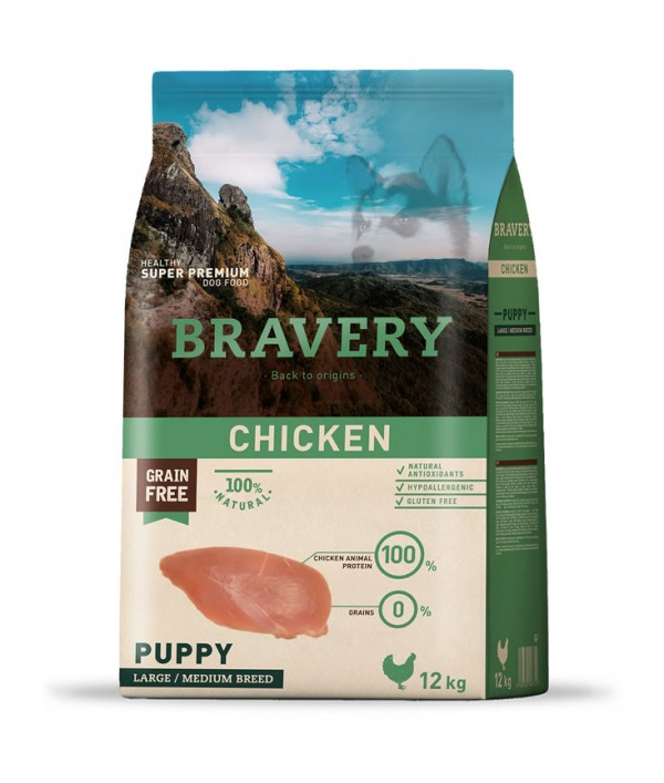 Bravery Chicken Puppy Large-Medium Breeds
