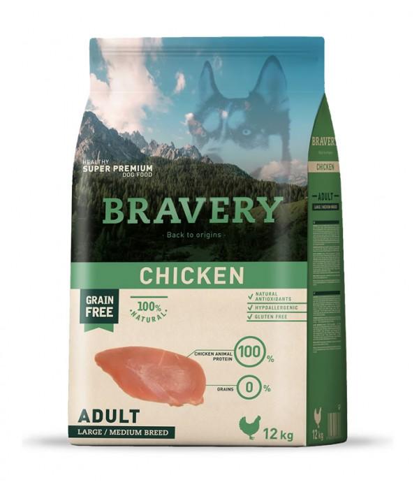 Bravery Chicken Adult Large-Medium Breeds