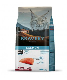 Bravery Salmon Adult Cat Sterilized