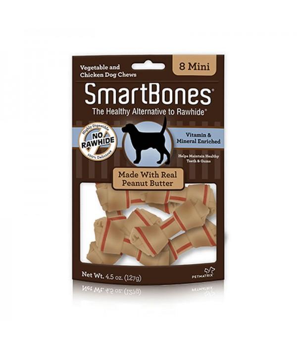 Smartbones Peanut Butter Mini, 8u
