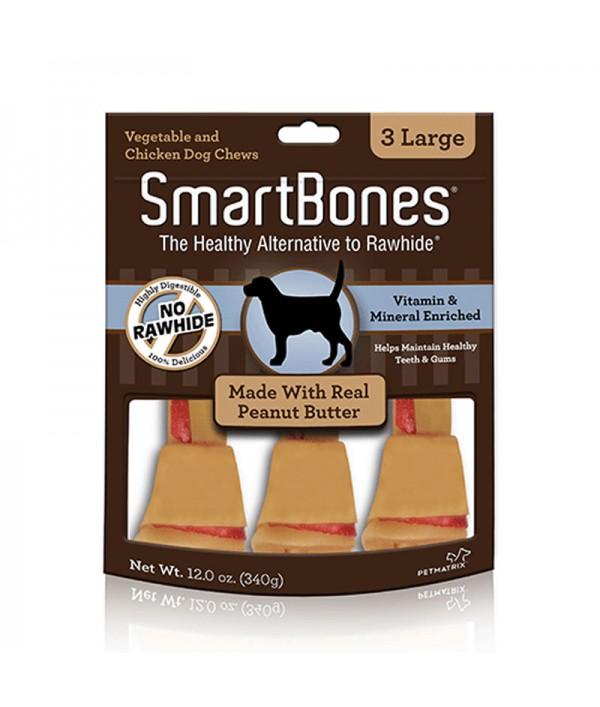Smartbones Peanut Butter Large, 3u
