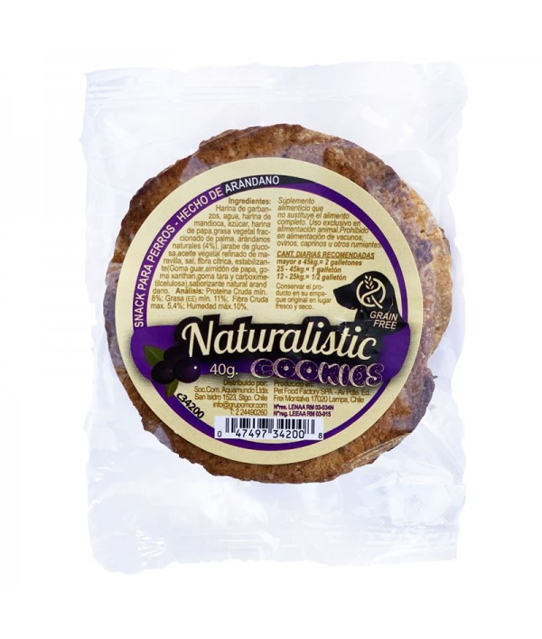 Naturalistic Galleton Grain Free Arandano
