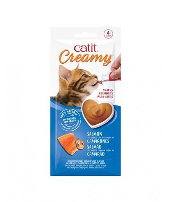 Catit Creamy Salmón con Camarones