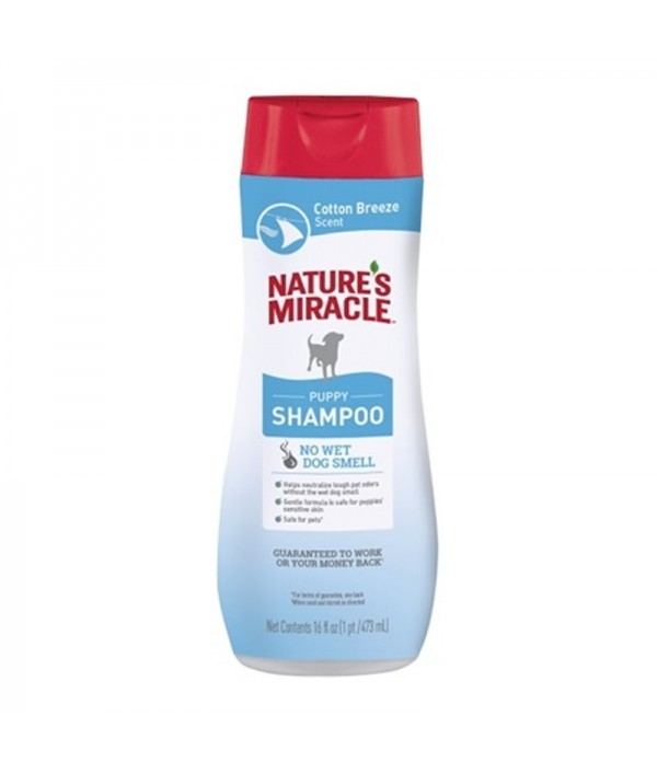 Nature´s Miracle Puppy Shampoo, Cotton Breeze Scent