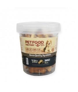 Pet Food Factory Galleta Horneada Sabor Ahumado (Pote)