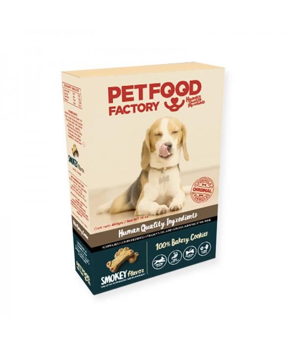 Pet Food Factory Galleta Horneada Sabor Ahumado (Caja)