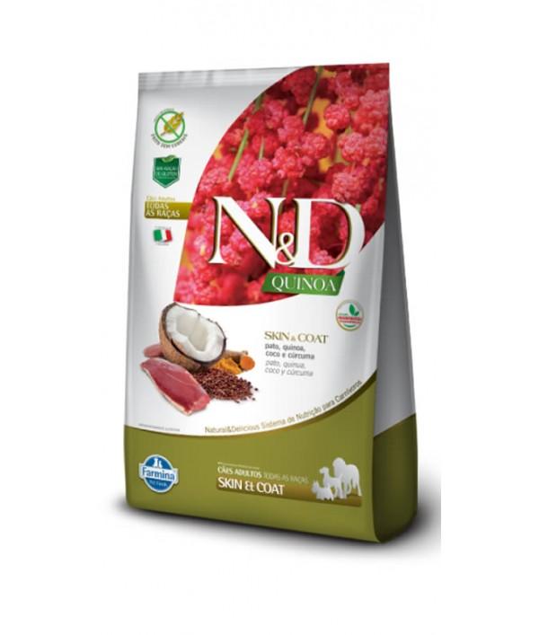 N&D Quinoa Skin & Coat Pato