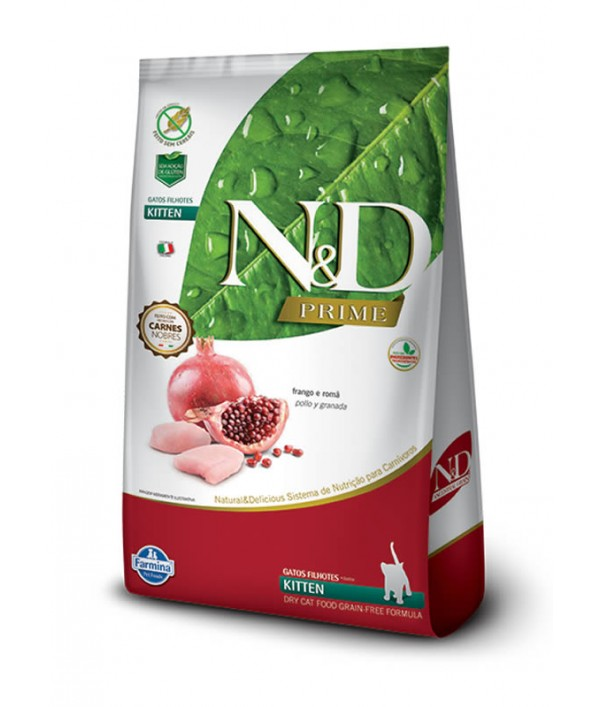 N&D Pollo y Granada Kitten