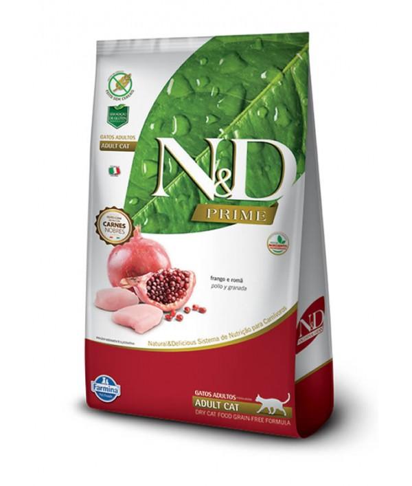 N&D Pollo y Granada Adult Felino