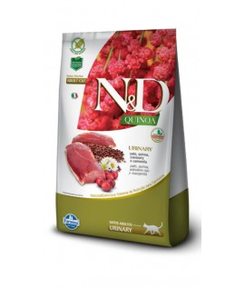 N&D Quinoa Urinary Pato Felino
